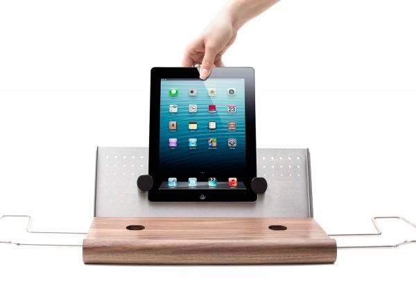 Universal Tablethalterung Badewanne iPad-Halter, Tablet-Halter, iPad-Halterung, Tablet-Halterung, Badewanne, Badewannenablage, Lesen in der Badewanne, iPad-Ständer, Tablet-Ständer